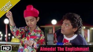 Almeda! The Englishman! - Comedy Scene - Kuch Kuch Hota Hai