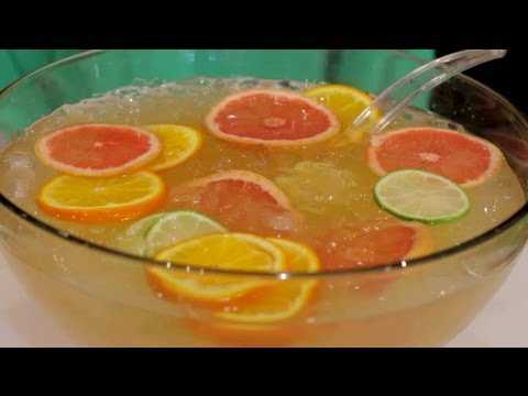 Video Alcoholic Punch Made With 7 Up : Mojito & Daiquiri Recipes