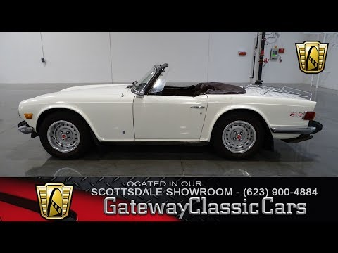 Video of 1974 Triumph TR6 Offered by Gateway Classic Cars - Scottsdale - MCYM