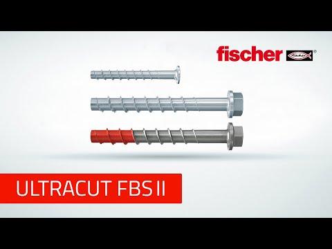 Fischer Ultracut FBS II 10 x 100 45/35/15 Concrete Screw