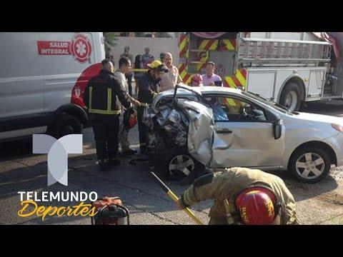 Filtran el video del brutal accidente de Joao Maleck, canterano de Chivas | Telemundo Deportes