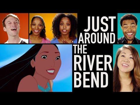 Pocahontas Lyric Video   Just Around the Riverbend