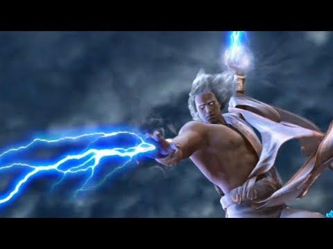 Zeus & Hades Defeats The Titans - God of War 2