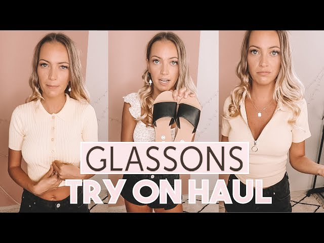GLASSONS CLOTHING HAUL & RUBY SHOES TRY ON HAUL -  KEIARA MOORE
