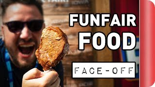 FUNFAIR FOOD FACE-OFF!! | Game Changers #AD