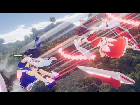 《幻想女武神》公開宣傳影片 同人遊戲社團領域ZERO製作的東方同人空中對戰射擊動作遊戲