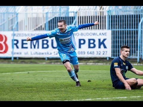 Bramki z meczu Jeziorak Iława - Stomil II Olsztyn 2:0