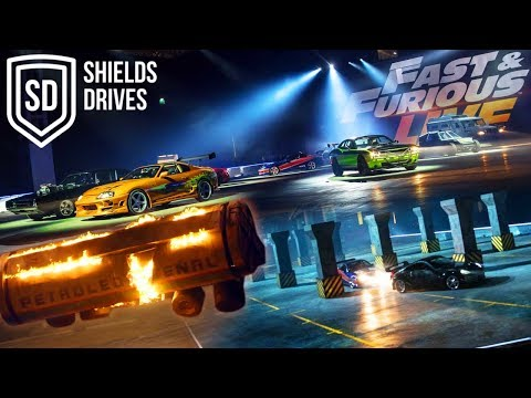 FIRST LOOK AT FAST AND FURIOUS LIVE (REHEARSALS AND STUNTS)