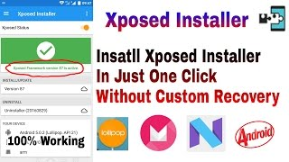 Install Xposed Installer || Without Custom Recovery || Xposed Installer Framework Update || Hindi