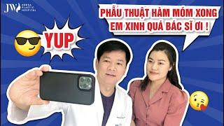 Bác sĩ Tú Dung CẠN LỜI trước nữ MC XINH ĐẸP đủ DUYÊN MỚI PHẪU THUẬT hàm móm