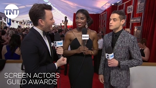 Rami Malek: Red Carpet Interview   23rd Annual SAG Awards   TNT