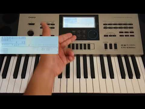 How To Make Registration Banks In Keyboard   Casio Ctk-6300IN & Ctk-7300IN   In Hindi