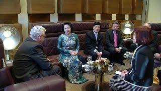 Chủ tịch Quốc hội Nguyễn Thị Kim Ngân bắt đầu chuyến thăm chính thức Cộng hòa Séc