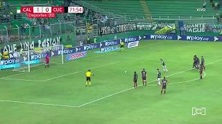 Cali 2-0 Cúcuta: Gol Feiver Mercado I Deportes RCN