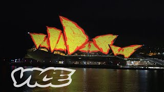 Lighting the Sails of the Sydney Opera House