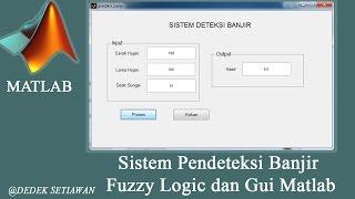 Fuzzy Logic Prediksi Banjir