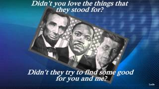 Abraham, Martin and John by Dion w /Lyrics (High Quality Mp3)