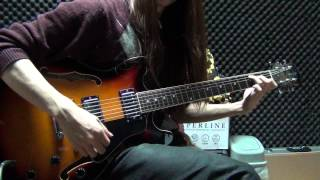 Mama Cass - Dream A Little Dream Of Me guitar chord solo finger style cover by Eric Lo