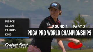 2021 World Championships - R4B9 - Pierce, Allen, Fajkus, King