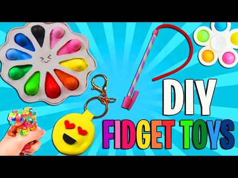 3 Fidget Toys