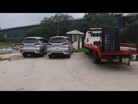 Dạo Quanh Bãi Xe Xpander Tại Công Ty Mitsubishi Trung Thượng