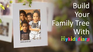 Build Your Family Tree with My Kids Diary