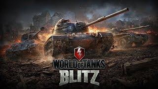 WoT Blitz - Ночное сбитие иксов #2 - World of Tanks Blitz (WoTB)