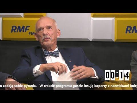 Джанасз Корвин-Mикке на дебакие в РMФ ФM 09.10.2019