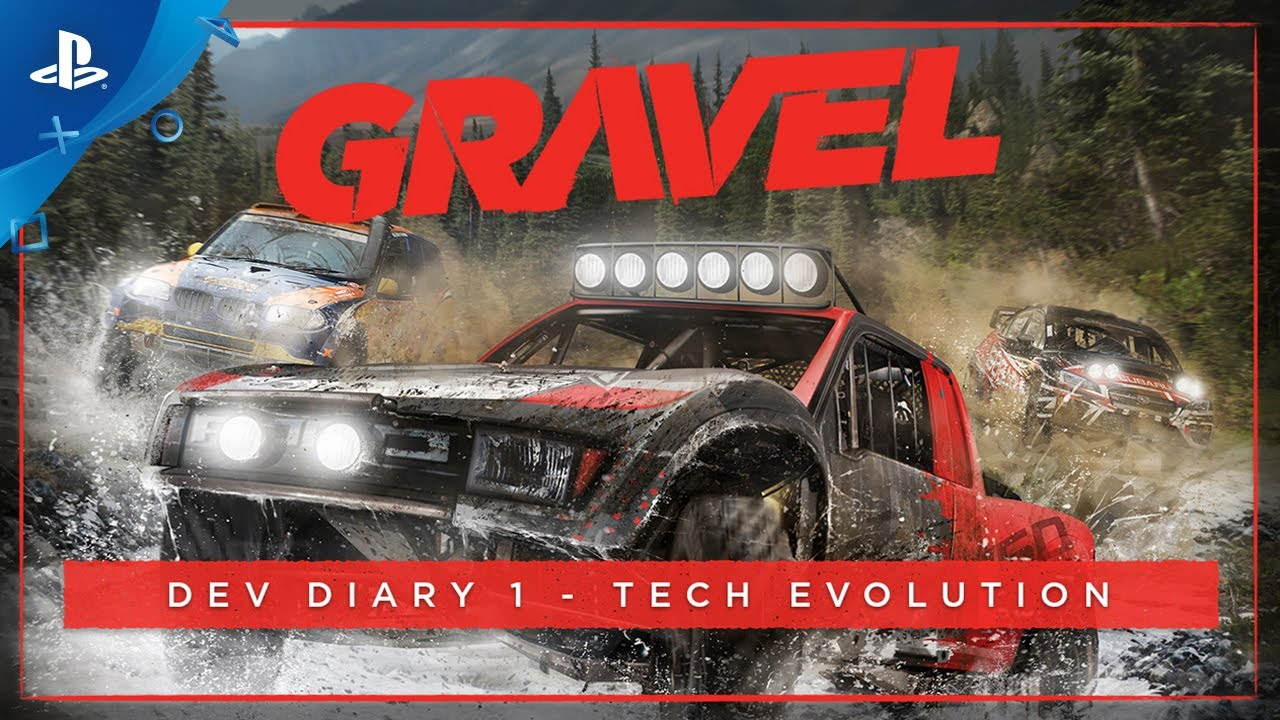 Off-Road Arcade Racer Gravel Launching on PS4 in Early 2018