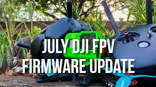 July 2020 DJI FPV Firmware Update - 50Mbps!!!!!