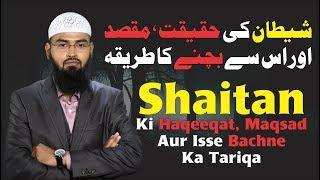 Shaitan Ki Haqeeqat, Maqsad Aur Isse Bachne Ka Tariqa By Adv. Faiz Syed