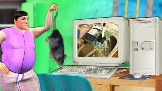 कंप्यूटर Computer हिंदी कहानियां Comedy Video Hindi Kahaniya | Computer washing funny comedy videos