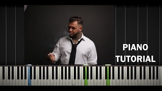 Kali - Som Rád - Piano Tutorial / Cover - Synthesia