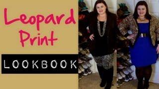 Plus Size Fashion: Leopard Print LookBook