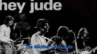 The Beatles Hey Jude,Subtitulos Ingles