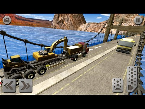 Sand Excavator Truck drive Level Game | Game for kids |