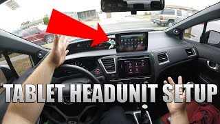How to use a Tablet as your Car Display