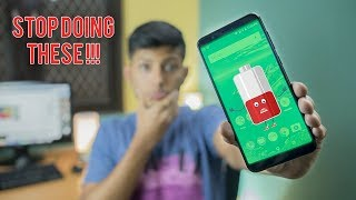 Battery Mistakes that Spoil Your Battery Life in Hindi !! feat. Asus Zenfone Max Pro
