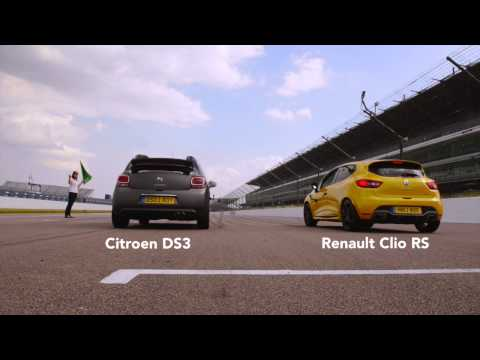 Citroen DS3 vs Renault Clio RS