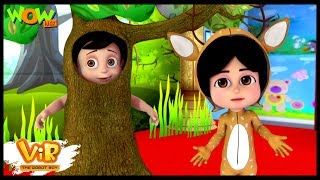 Vir The Robot Boy   Hindi Cartoon For Kids   Drama competition   Animated Series  Wow Kidz