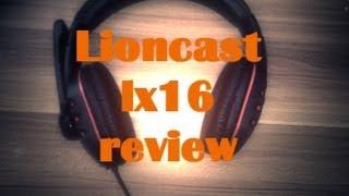 Lioncast LX16 Headset review (German/HD) (deutsch)