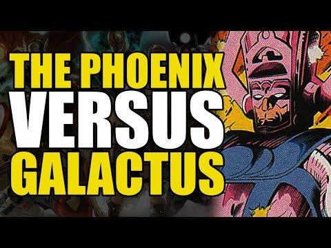 The Phoenix Versus Galactus (Excalibur #61)