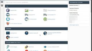[CPanel Tutorial ITA] come creare o modificare database e utenti MySql