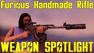 Fallout 76: Weapon Spotlights: Furious Handmade Rifle