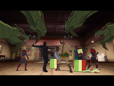 Marvel's Avengers Assemble Season 4 Clip