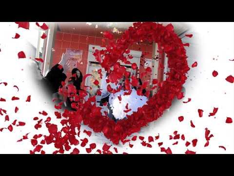 Трогательное слайд-шоу подарок любимому на первую годовщину свадьбы