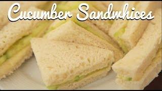 English Cream Tea: Cucumber Sandwiches - Crumbs