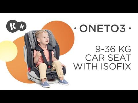 Video v článku Kvalitní autosedačka pro děti s hmotností od 9 kilogramů? KINDERKRAFT ONETO3