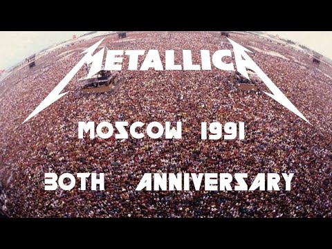 Metallica - Live in Moscow (1991) [2021 ReMixed & ReMastered w/ NEW Audio]