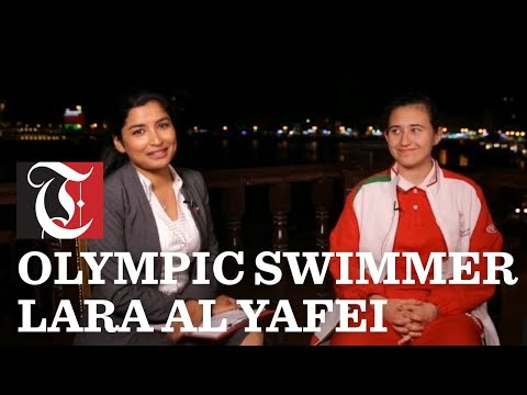 LIVE: Oman's first female Olympic swimmer Lara Al Yafei